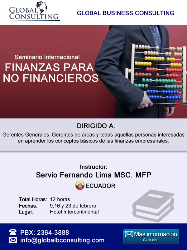 Seminario FINANZAS PARA NO FINANCIEROS