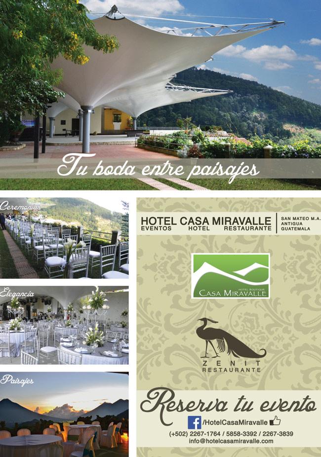 Su Boda Entre Paisajes - Hotel Casa Miravalle