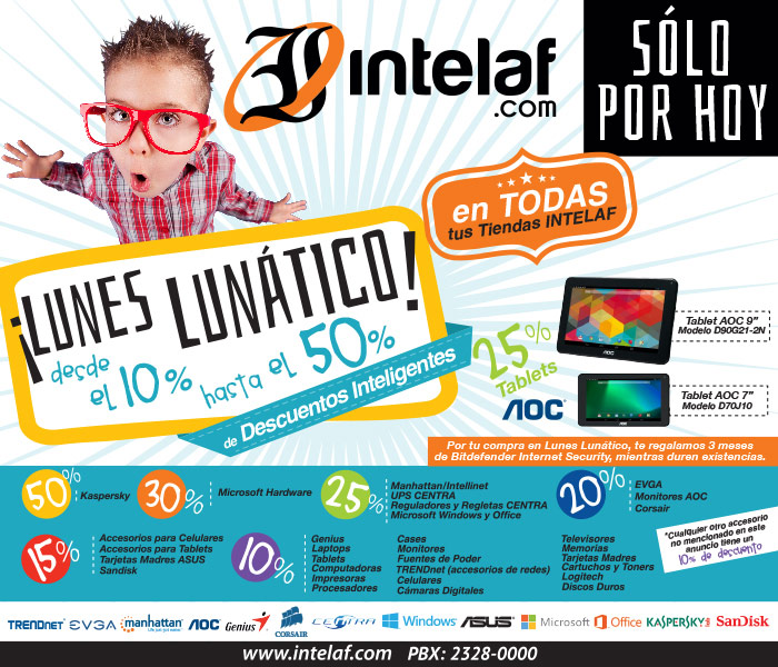Intelaf – Hoy es Lunes Lunatico
