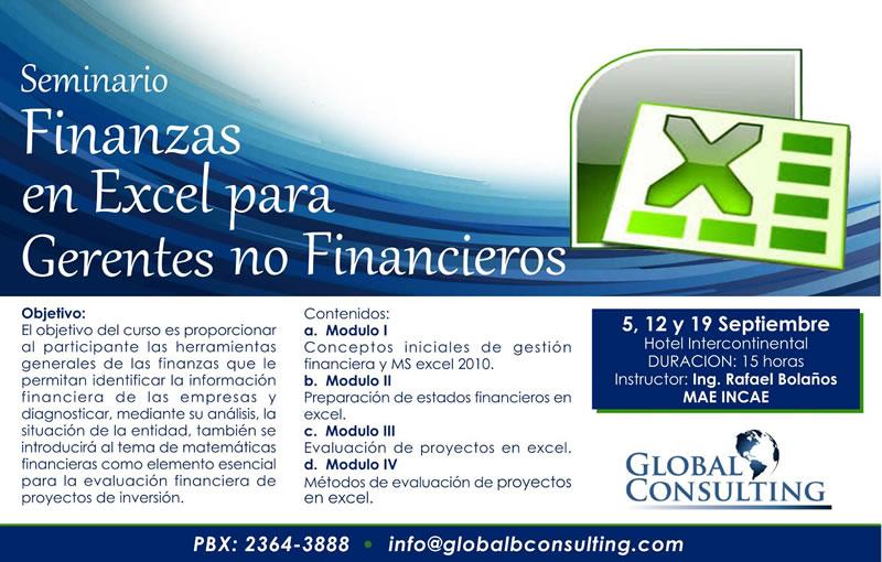 Finanzas en Excel - Global Consulting